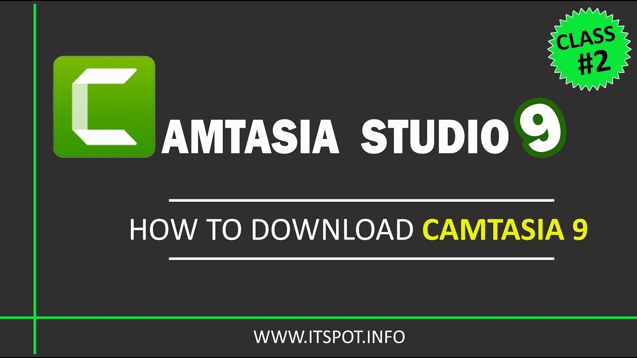 Learn Camtasia Studio 9 | Lesson 2 ( How To Download Camtasia 9 ) in Urdu / Hindi
