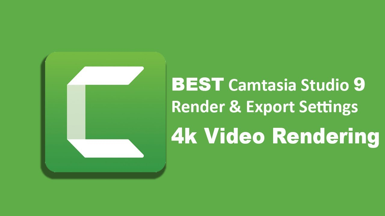 Photo of Best Camtasia Studio 9 Render & Export Settings! 4k-1080p #Camtasia Tutorial 2019