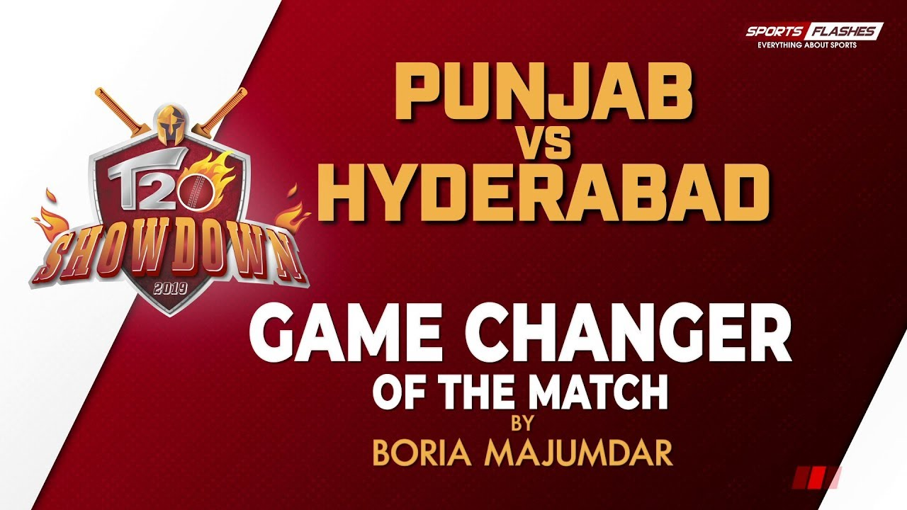 Photo of Game Changer of The Match Punjab vs Hyderabad by Boria Majumdar | IPL 2019