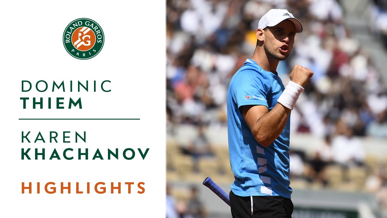 Photo of Dominic Thiem vs Karen Khachanov – Quarterfinals Highlights | Roland-Garros 2019