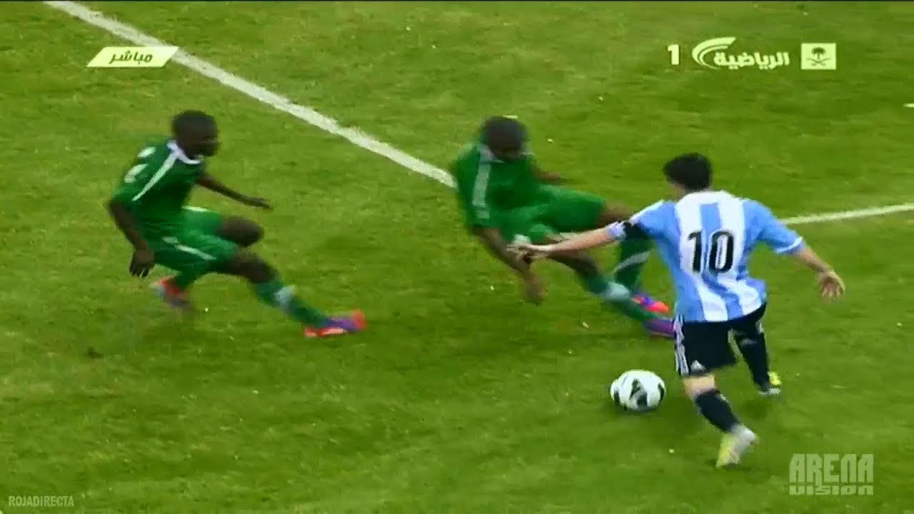 Messi Vs Saudi Arabia (A) Friendly 2012