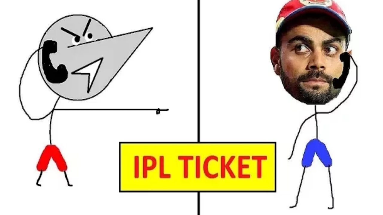 Photo of IPL Ticket: Halkat Call 2 || Angry Guruji