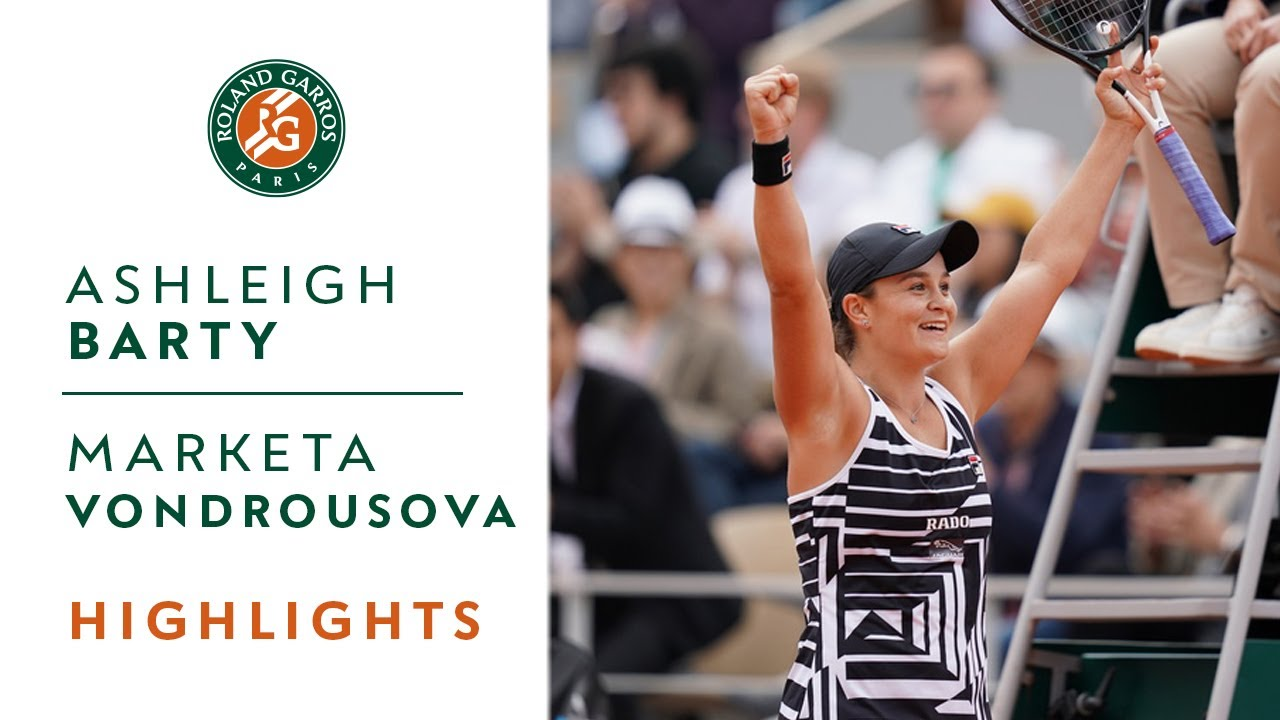Photo of Ashleigh Barty vs Marketa Vondrousova – Final Highlights | Roland-Garros 2019