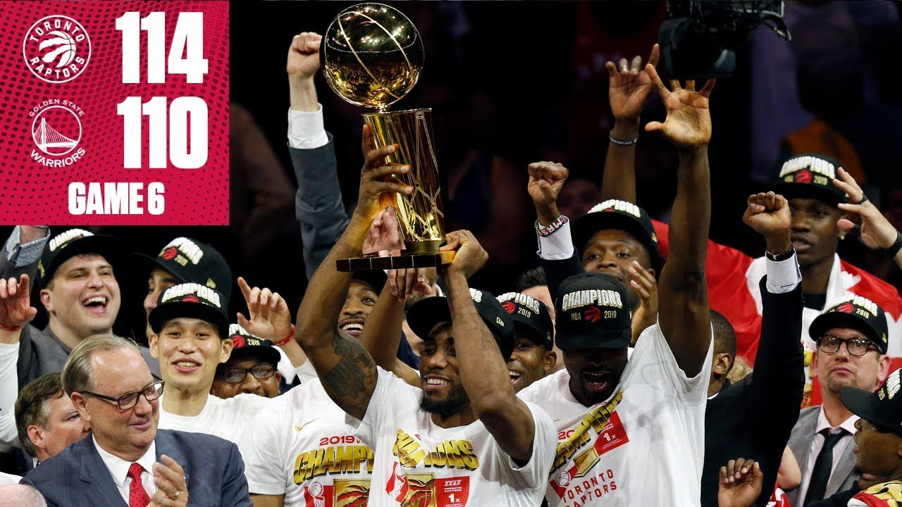 Raptors beat Warriors to win 1st NBA title in team history | 2019 NBA Finals Highlights