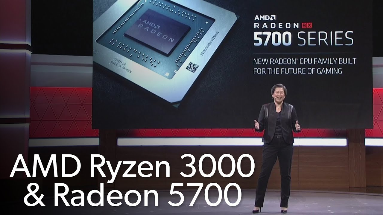 Photo of AMD's E3 2019 hardware announcement highlights