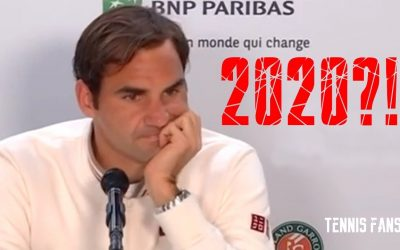 "Roger Federer ""RG next year?! We will see…"" – Roland Garros 2019 (HD)"