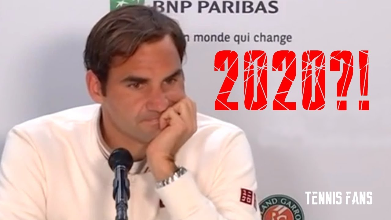 "Photo of Roger Federer ""RG next year?! We will see…"" – Roland Garros 2019 (HD)"