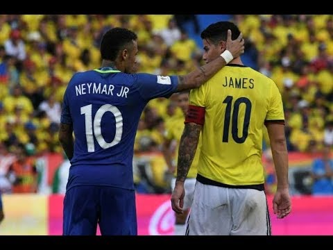 Colombia Vs Brazil (1-1) Goals & Highlights – 2018 World Cup Qualification (CONMEBOL)