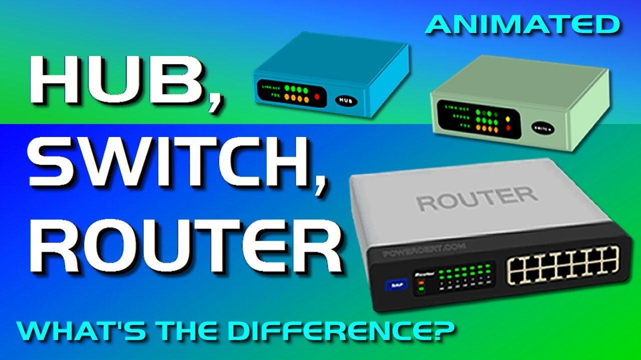 Photo of Hub, Switch, & Router Explained – What's the difference?