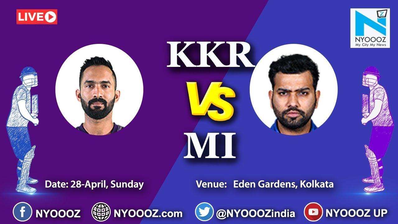 Photo of Live IPL 2019 Match 47 Discussion: KKR vs MI | Target For Mumbai Indians is 233
