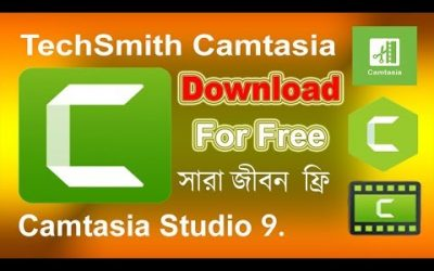 How to Download Camtasia Studio 9 For Free Full Version Windows 10 Bangla Tutorial