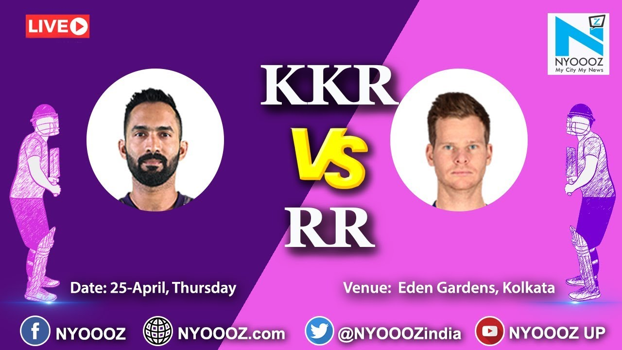 Photo of Live IPL 2019 Match 43 Discussion: KKR vs RR | Target for Rajasthan Royals Is 176