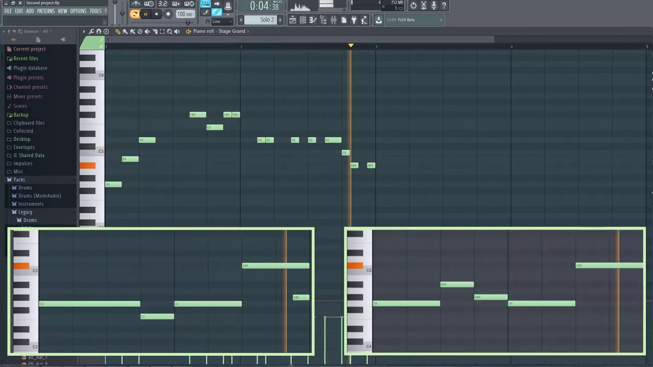 Photo of First track in FL Studio 12