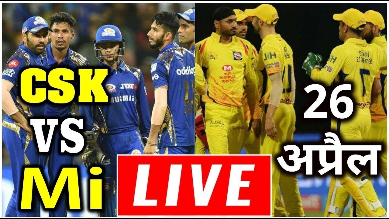 Photo of LIVE – IPL 2019 Live Score, CSK vs MI Live Cricket match highlights today, Today live IPL match