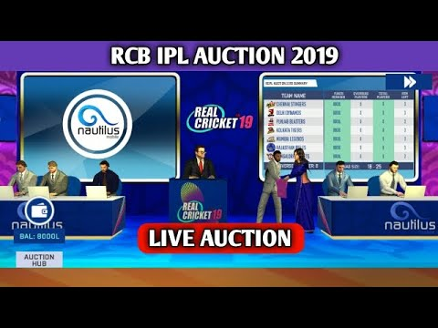 Photo of (IPL AUCTION) RCB TOURNAMENT 2019 IN REAL CRICKET 19 LIVE