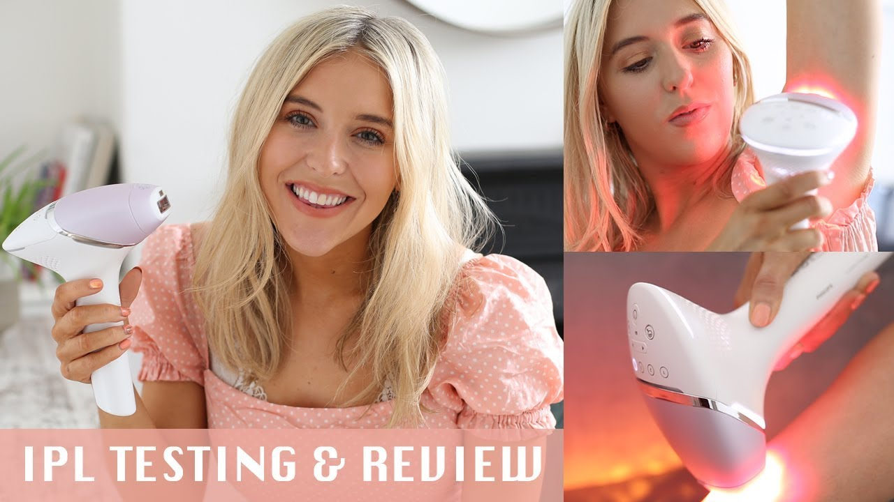 Photo of TRYING IPL HAIR REMOVAL AT HOME | NEW Philips Lumea Prestige IPL Review AD