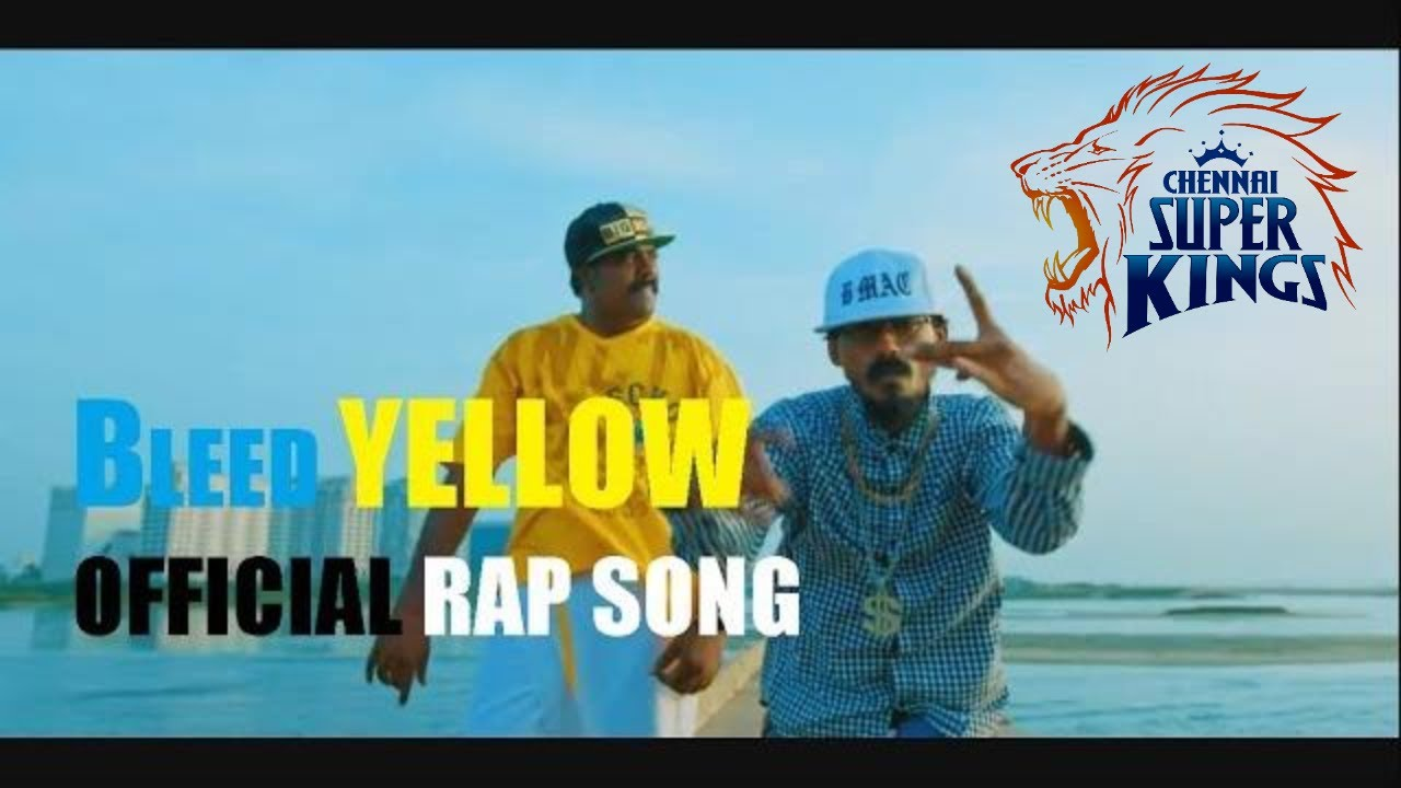 Photo of 2019 VIVO IPL (Official Music Video ) CSK Rap – Bleed Yellow – Bmac | Hyde Karty | Starsports