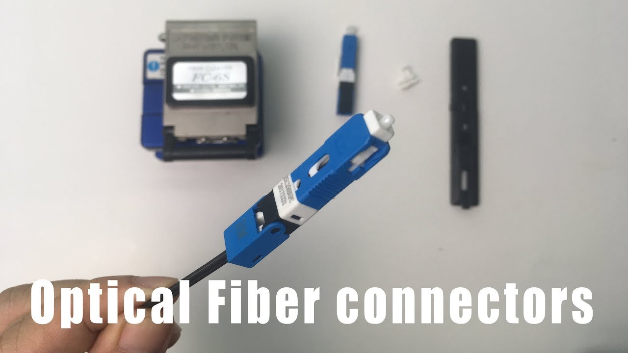 Photo of How to make optical fiber connectors