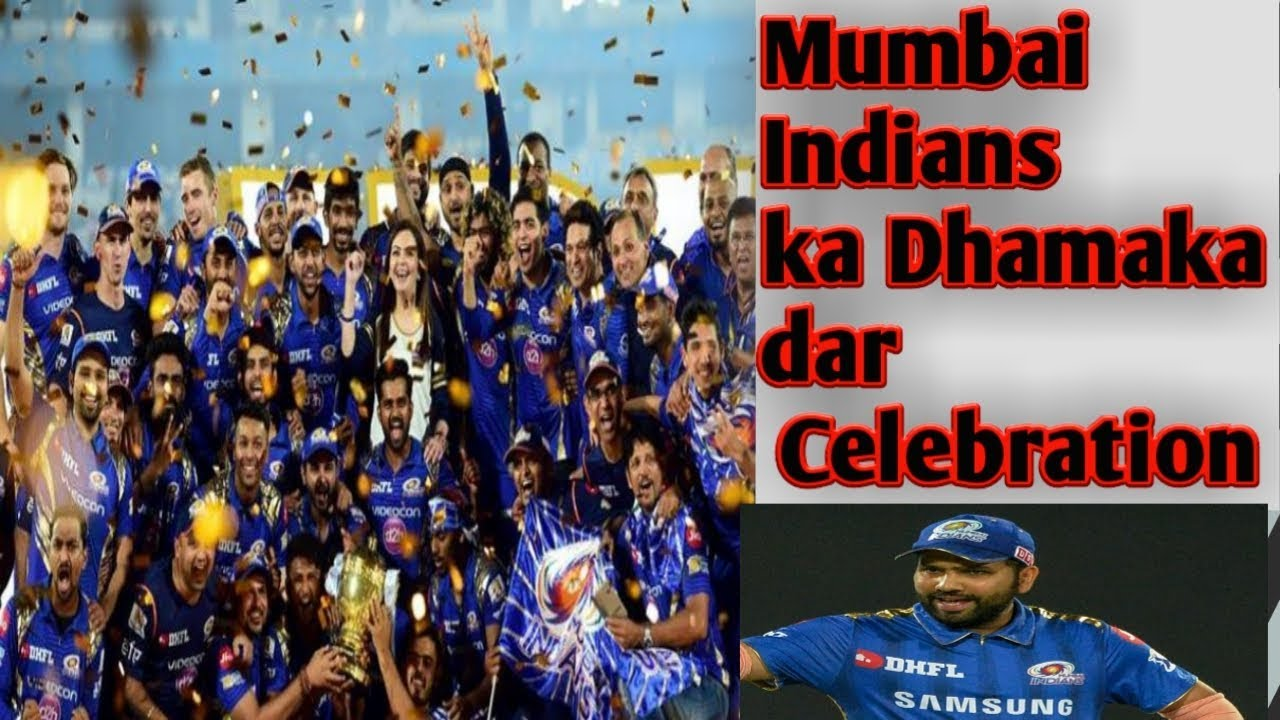 Photo of Celebration of Mumbai Indians after winning IPL 2019 | MI won IPL 2019 | MI vs CSK | MI win IPL 2019