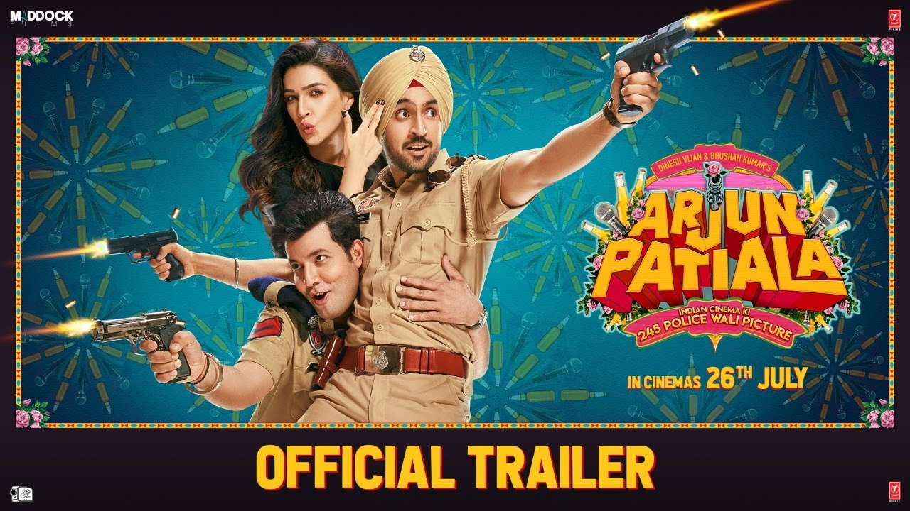Photo of Official Trailer: Arjun Patiala | Diljit, Kriti, Varun | Dinesh V | Rohit J | Bhushan K | 26 July