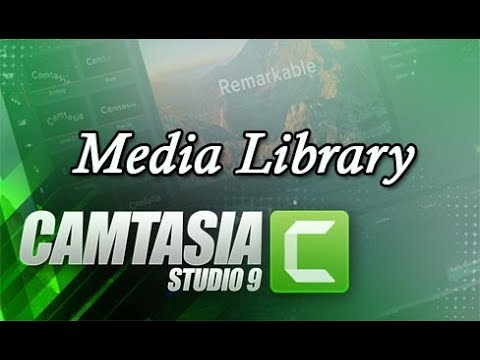 Photo of Camtasia Studio Media Library Feature in Hindi Make Intro Video (Part-III)