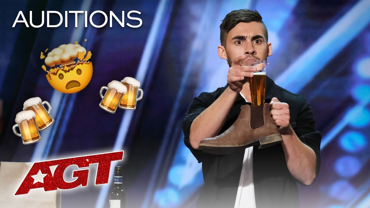 Photo of Dom Chambers Chugs A Beer With Intoxicating Magic! – America's Got Talent 2019