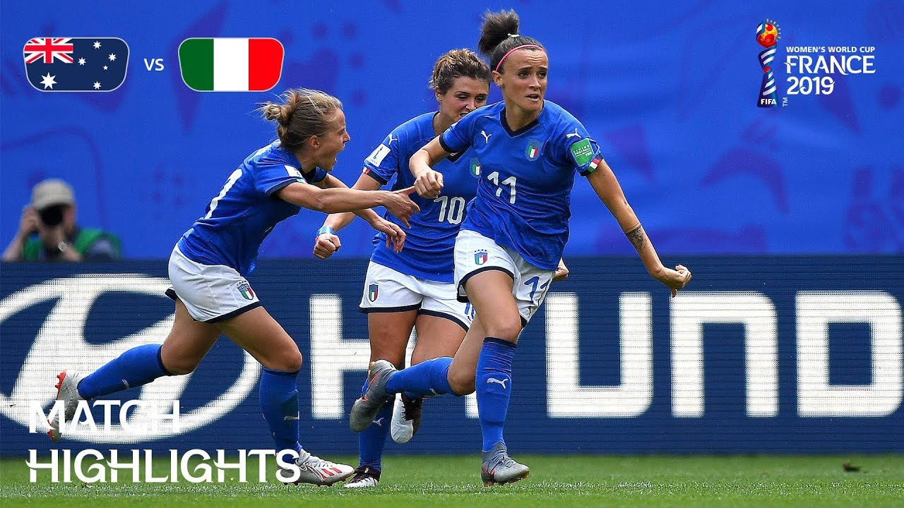 Australia v Italy – FIFA Women's World Cup France 2019™