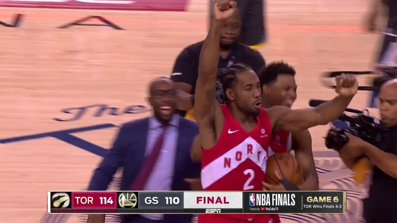 Photo of Final Seconds of 2019 NBA Finals Game 6 | Toronto Celebration | Raptors vs Warriors