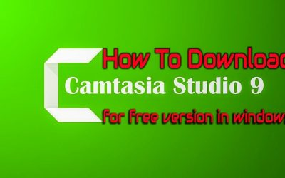 How To Download Camtasia studio 9 for free version in windows 10 2019