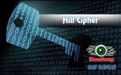 Hill Cipher Encryption / Decryption – شرح بالعربي – Subtitled