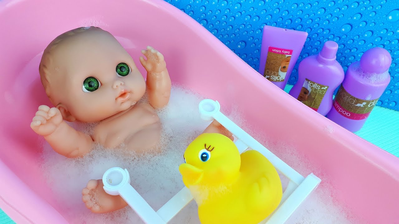 Photo of Baby doll bath time – Toys for girls