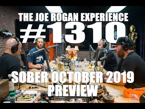 Photo of Joe Rogan Experience #1310 – Sober October 2019 Preview