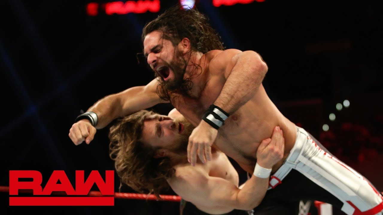 Seth Rollins vs. Daniel Bryan: Raw, June 17, 2019