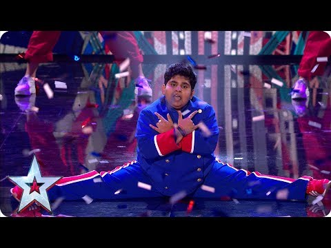 Photo of Amazing Akshat Singh dances up a storm! | Semi-Finals | BGT 2019