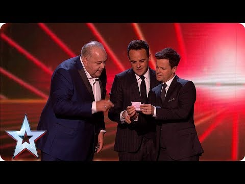 Comedian John Archer hits the jackpot | Semi-Finals | BGT 2019
