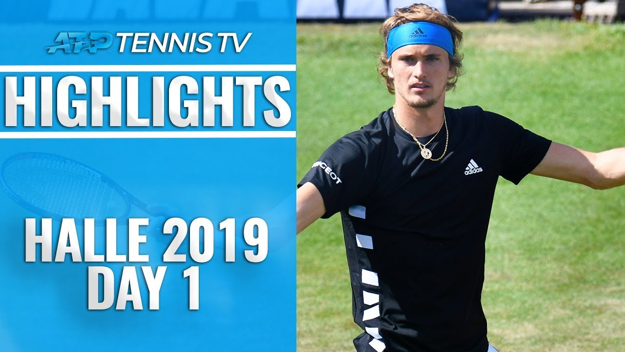 Photo of Zverev & Khachanov Through; Monfils Knocked Out | Halle 2019 Highlights Day 1