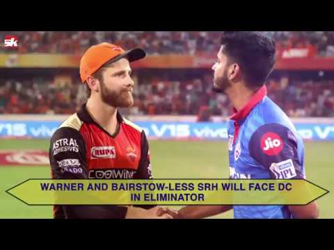 IPL 2019 : DC vs SRH | Sunrisers Hyderabad Road To Eliminator