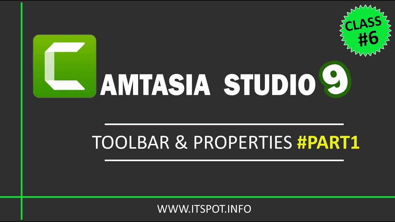 Photo of Learn Camtasia Studio 9 | Lesson 6 ( ToolBar & its Properties [part 1]  ) in Urdu / Hindi