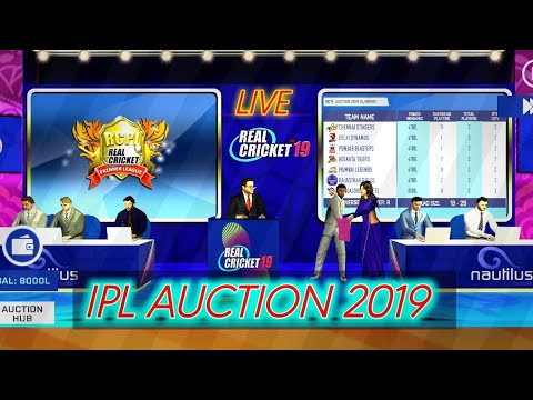 Photo of RCPL AUCTION LIVE GAMEPLAY//IPL AUCTION 2019 GAMEPLAY