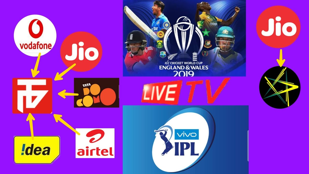 Photo of How to watch icc world Cup live..vivo IPL live in all sim…part 1