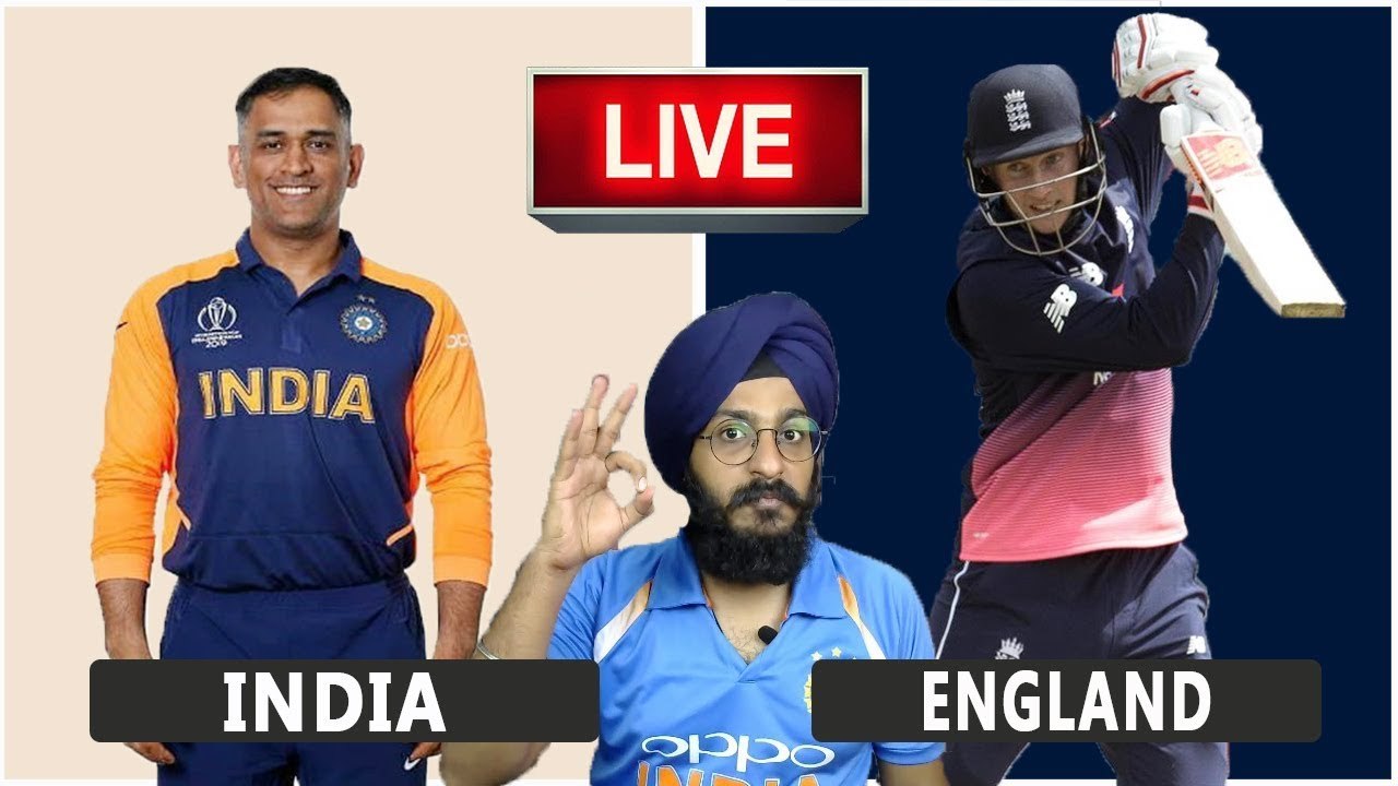 India VS England Live Match | CWC19 | IND VS ENG | Live Score and Reaction