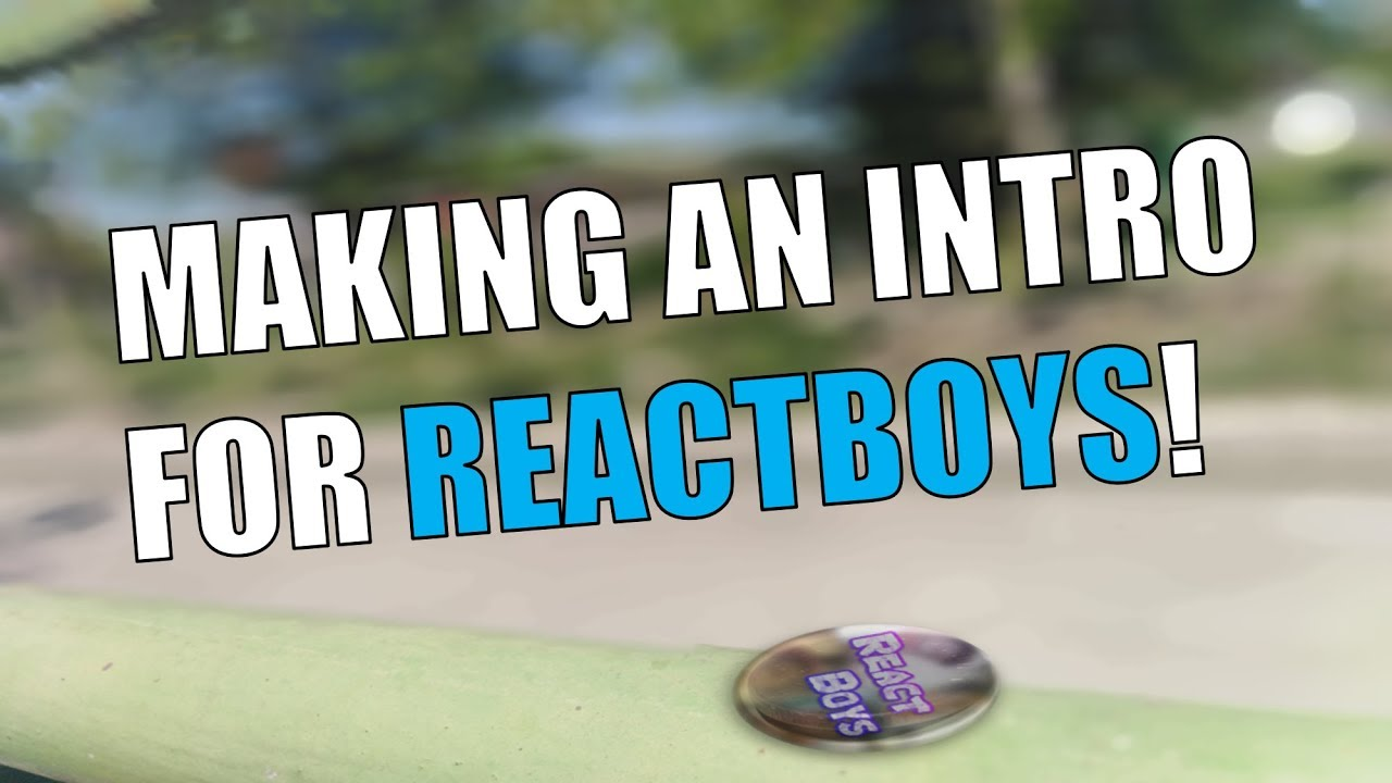 Photo of Making Intro Using Camtasia Studio 9 – Reactboys intro