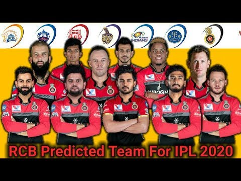 ROYAL CHALLENGERS BANGALORE (RCB) Predicted Team Squad For IPL 2020||