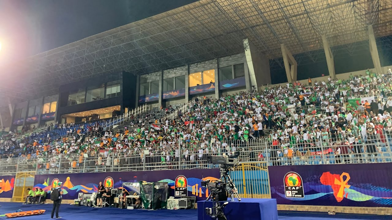 Photo of Match Algérie Kenya 2019 ambiance avant le match en direct d'égypte مبارة الجزائر كينيا