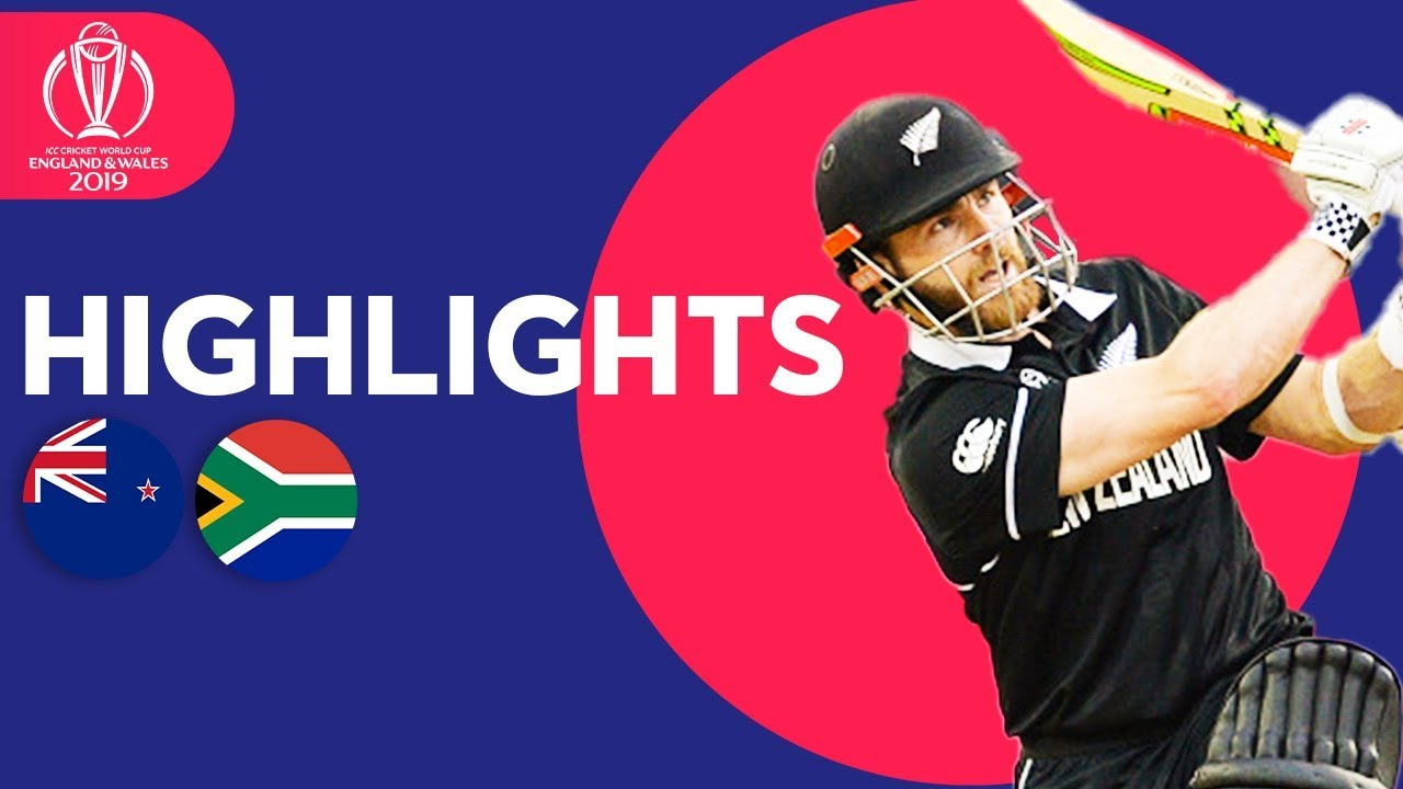Final Over Drama! | New Zealand vs South Africa | ICC Cricket World Cup 2019 – Match Highlights