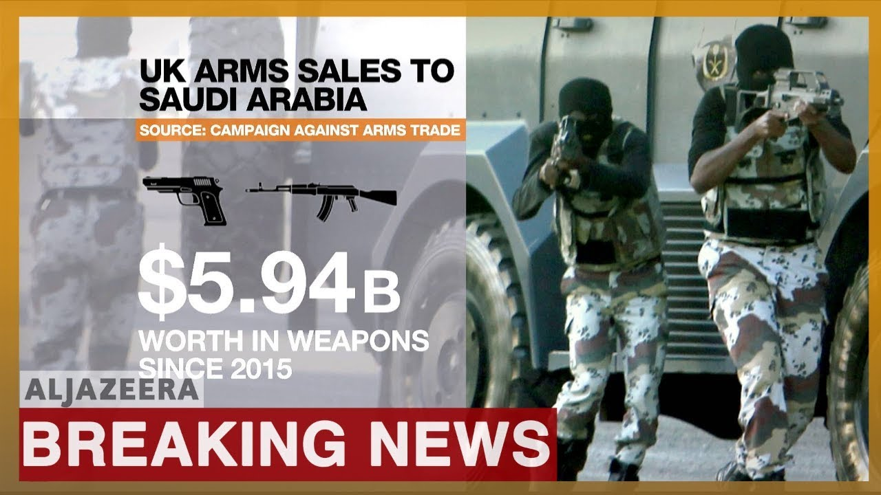 Photo of Arms sales to Saudi Arabia 'unlawful', rules UK's top court