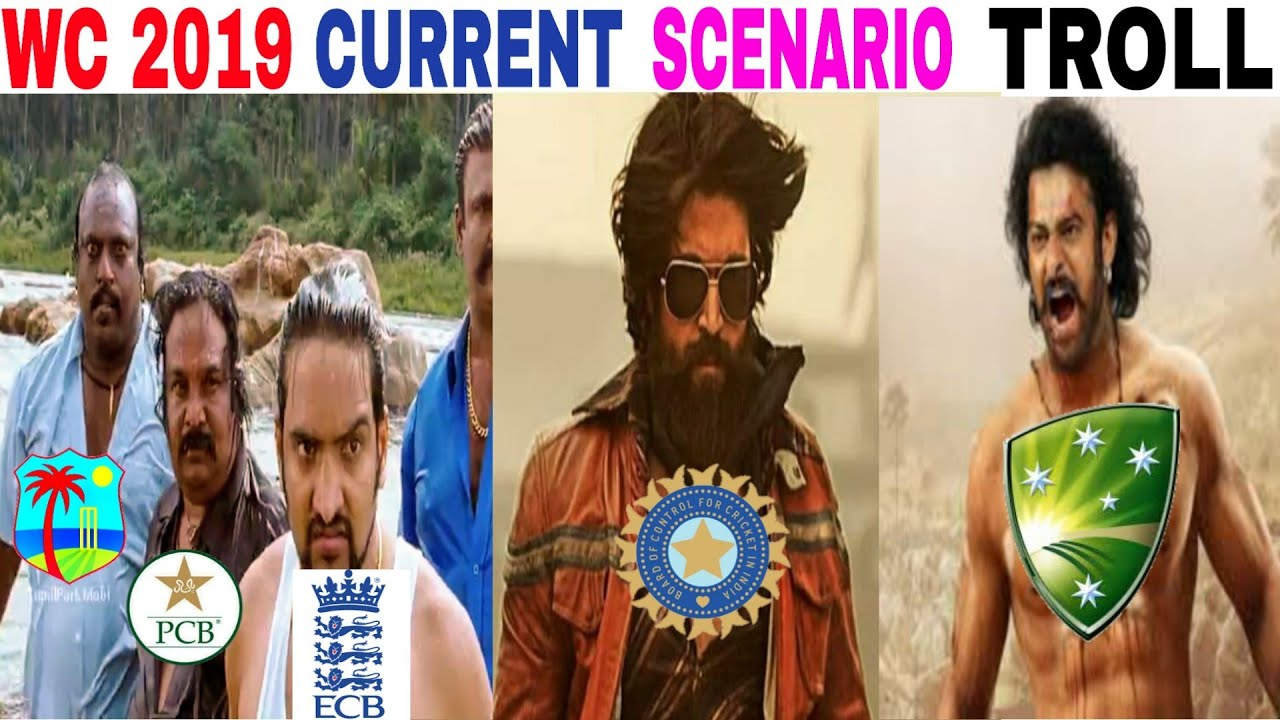 WORLD CUP 2019 CURRENT SCENARIO TROLL | IPL 2019 TROLL | ICC world cup points table troll