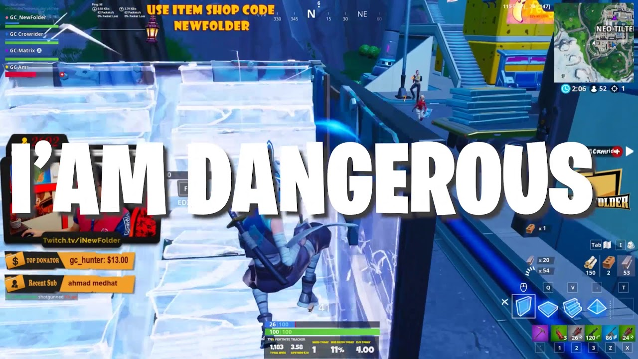 Photo of فورتنايت – فولدر الخطير – Fortnite NewFolder | Target locked – You can't delete me!