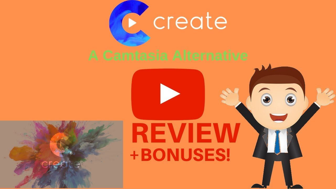 Camtasia Alternative ★★★ How to make videos like Camtasia and save $200 ★★★ Create by Vidello Review