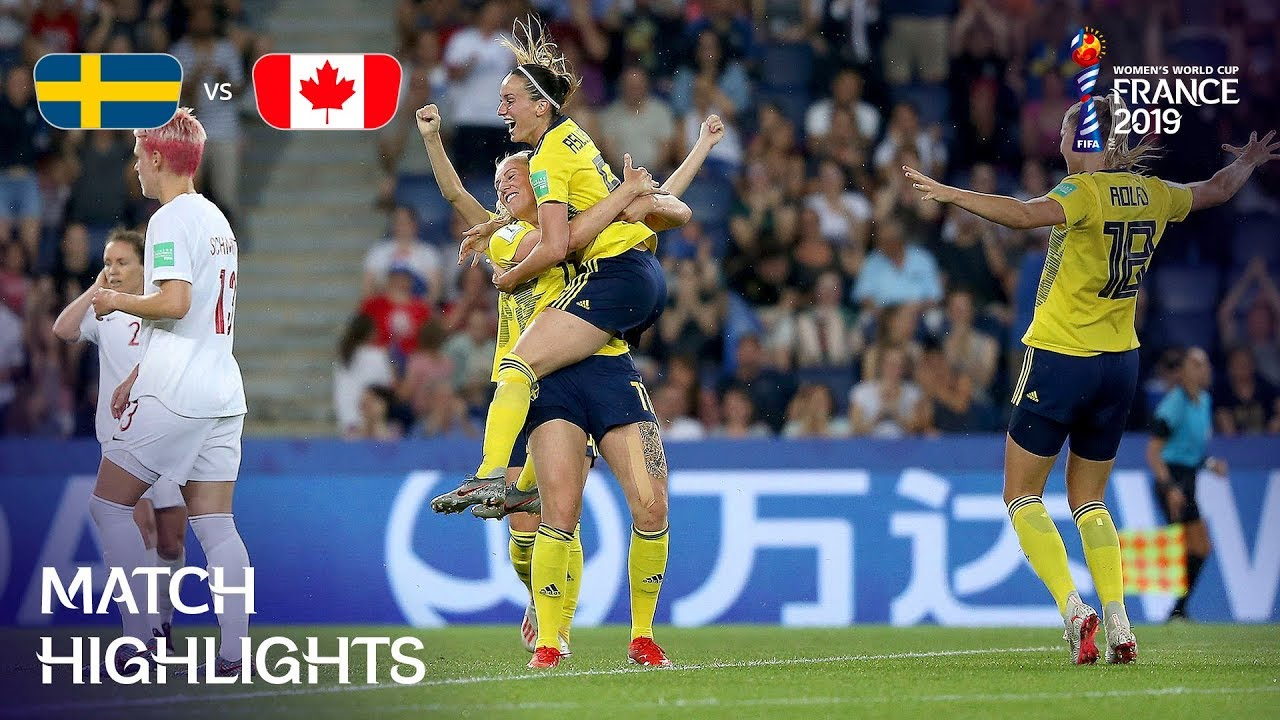 Photo of Sweden v Canada – FIFA Women's World Cup France 2019™